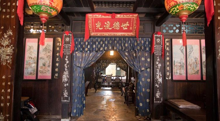 Bên trong nhà cổ Phùng Hưng Hội An