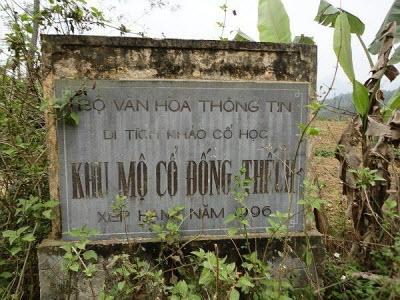 Khu mộ cổ Đống Thếch