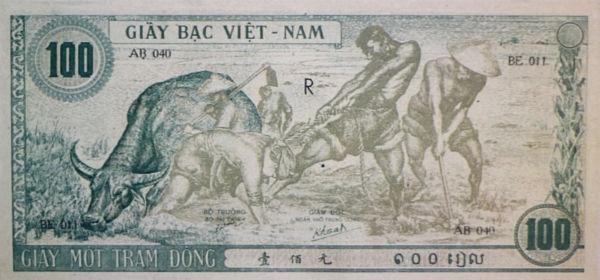 Đồng tiền con trâu xanh được làm từ nhà máy in tiền đầu tiên