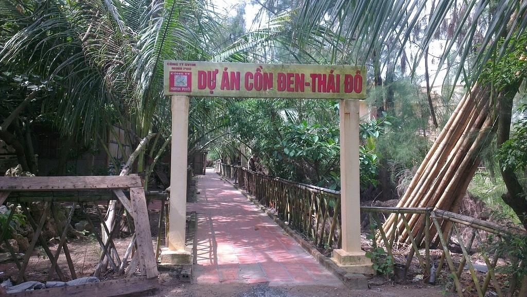 Khu du lịch sinh thái Cồn Đen
