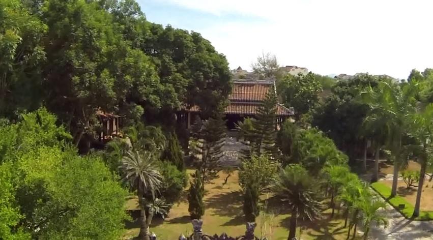 Toàn cảnh chùa Chúc Thánh Hội An