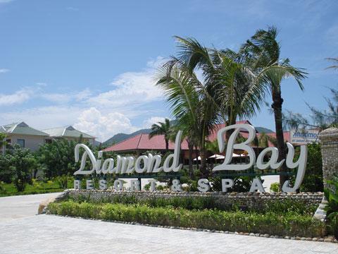 Kết quả hình ảnh cho Quần thể du lịch Diamond Bay Resort & Golf