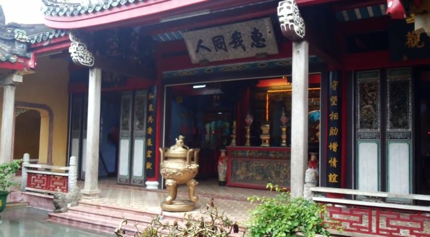 Bên trong hội quán triều Châu