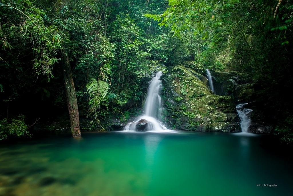 Kết quả hình ảnh cho thác ngũ hồ